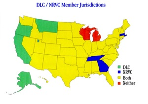 DLC / NRVC Member Jurisdiction
